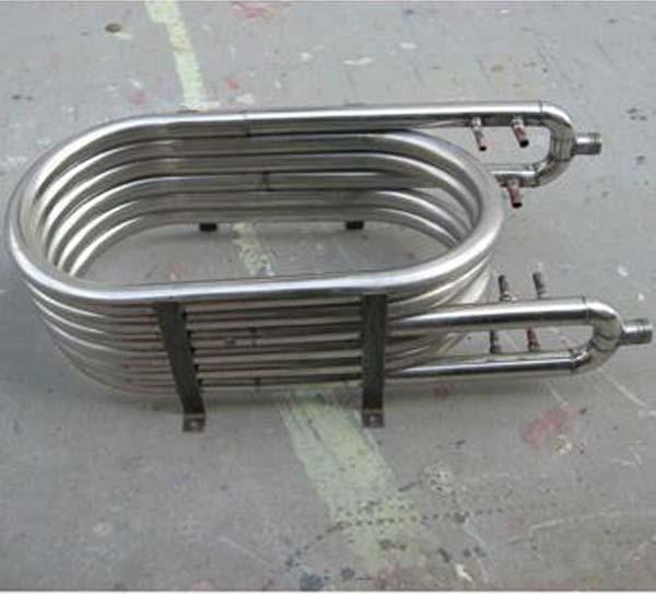 304不锈钢套管换热管